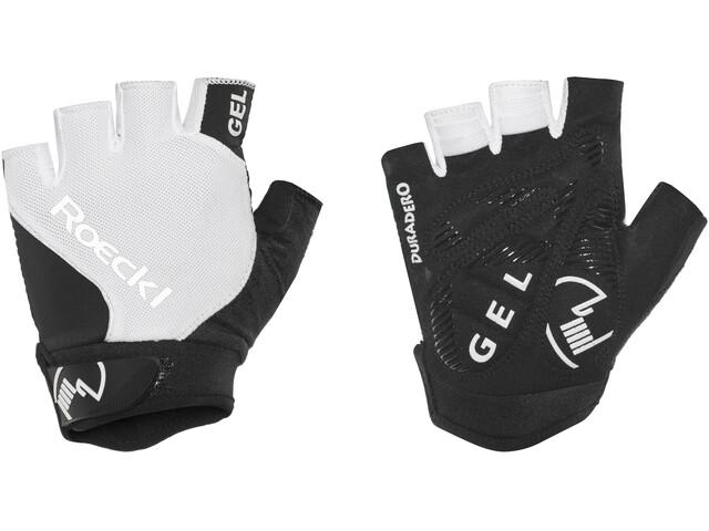 Roeckl Illano fietshandschoenen wit/zwart